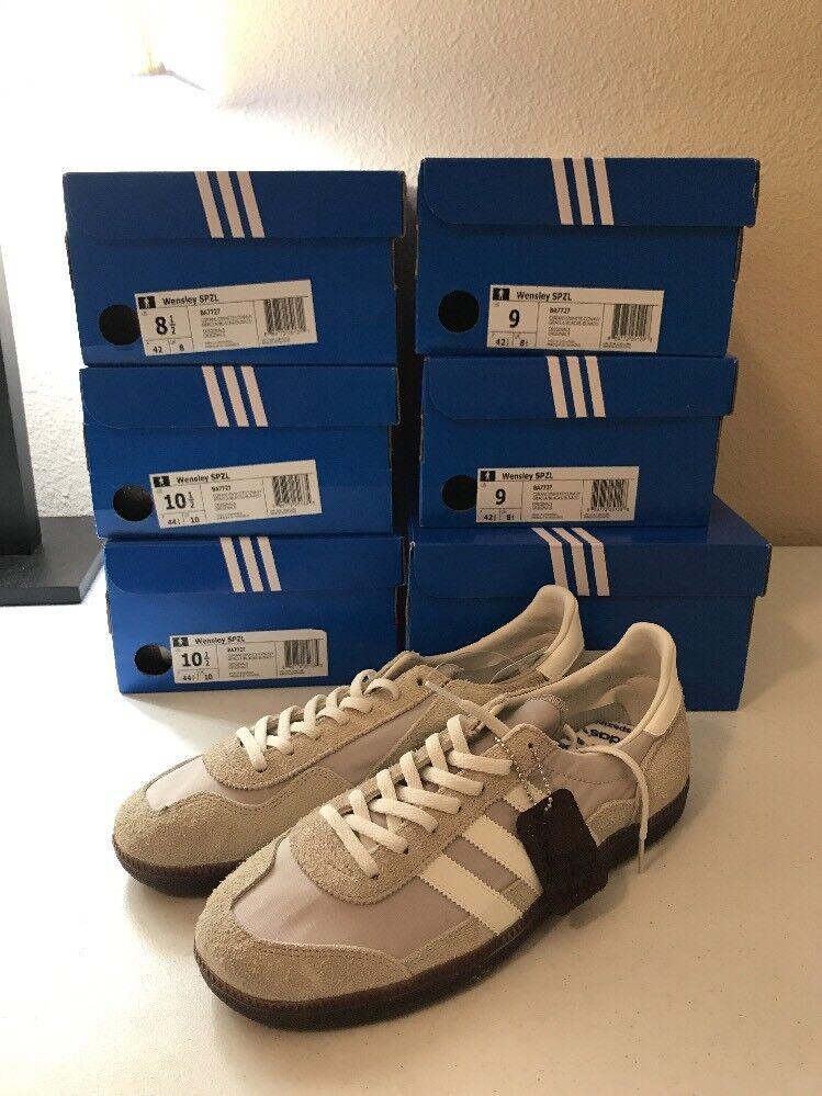 Brand new adidas wensley spzl - granito / biancastro biancastro / ba7727 100%% 3d5132