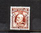 NEW ZEALAND.... 1909 5d brown mint