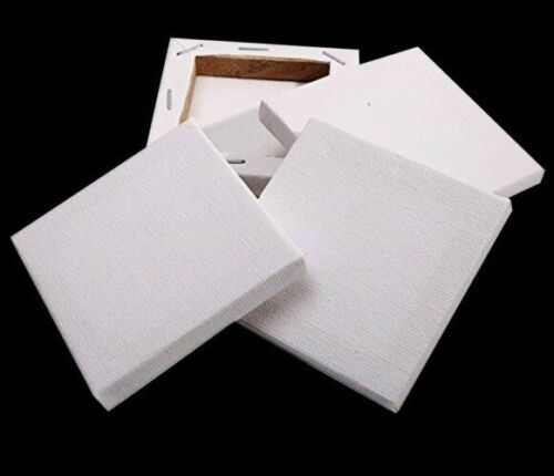 "5x7/"" 13 X 18CM BLANK PLAIN THIN EDGE STRETCHED PAINTING ART ACRYLIC CANVAS"