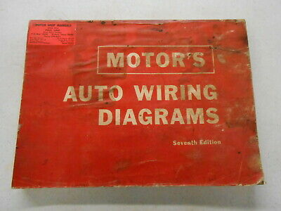 vintage wiring diagrams motor s 7th edition auto wiring diagrams manual 1963 1967 buick  7th edition auto wiring diagrams manual