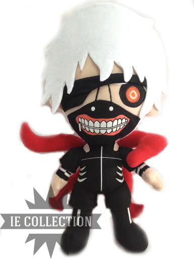 TOKYO GHOUL KANEKI SOFT TOY 35 CM snowman mask plush figures cosplay ken doll