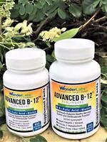 Advanced Vitamin B-12 Methylcobalamin Sublingual Tablets B-6 Folic Acid Biotin