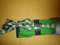 Arrow Men's Bow Tie & Pocket Square