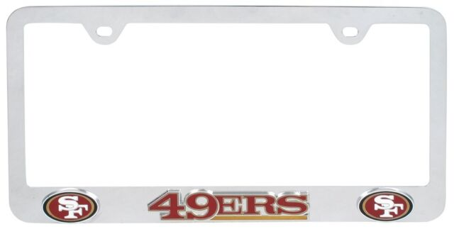 NFL Tag FRAM San Francisco 49ers License Plate Frames | eBay