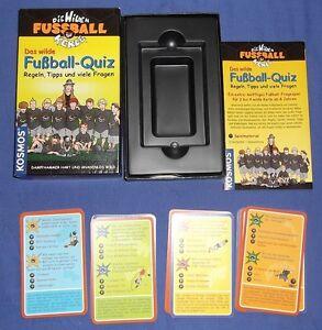 Details About Die Wilden Kerle Fussball Quiz Ratespiel Fussball Kosmos Fragen Karten Spiel
