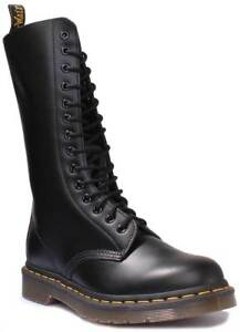 Dr-Martens-1914-Smooth-Unisex-Leather-Black-High-Lace-Up-Boots-UK-Size-3-12