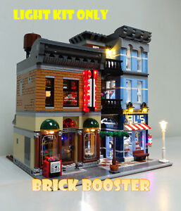 USB Powered LED Light Kit for Lego 10246 Detective Office