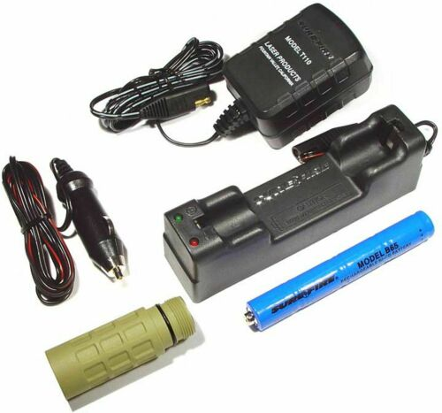 Olive Drab NEW SureFire KR1-OD Rechargeable Conversion Kit B65 NiCad Battery G2