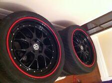 VW Tiguan Touareg Touran FELGENSCHUTZ & Styling Felgenringe TDI TSI Sport Track