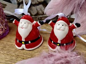 Glöckchen Weihnachtsglocke Tischglocke Baumschmuck Hirsch Landhaus Clayre Eef