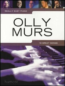 Adroit Really Easy Piano Olly Murs Pop Sheet Music Book-afficher Le Titre D'origine Demande DéPassant L'Offre