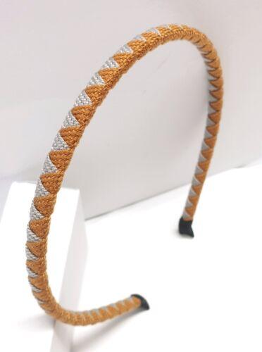 Diadèmes Scintillant Bijoux de cheveux 0,8 cm large coton Épingle à Cheveux Turban
