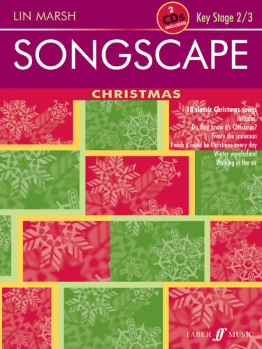 Songscape Christmas with 2 ECDs Children Christmas Piano Vocal FABER Music BOOK
