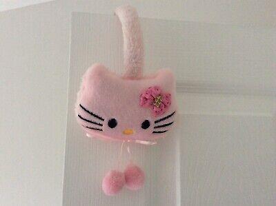 Hello Kitty Rosa Paraorecchie Peloso Nuovo-mostra Il Titolo Originale Elegante E Grazioso