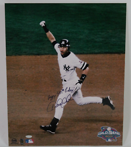 Derek Jeter signed autographed 16x20 photo! RARE! Steiner COA!
