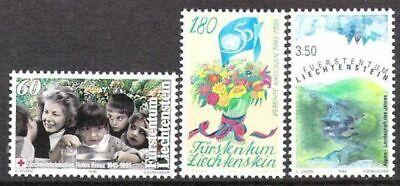 Das Beste Liechtenstein Nr.1105/07 ** Jahresereignisse 1995 Europa Briefmarken Postfrisch