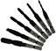 UCTOP STORE 6 Pcs Metric M3-M10 Drill and Tap Combination Bit Black Cobalt Finis