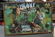 """Heavy Metal 2000 10""""x12"""" Porcelain Hand-Painted Statue MOORE CREATIONS /1500"""