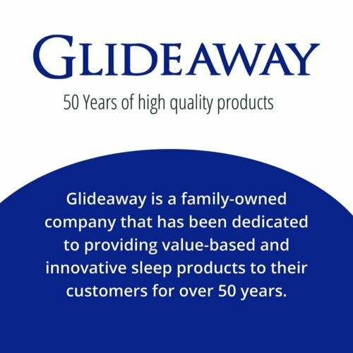 Breathable Queen Size Pillow Glideaway Quest Memory Foam Stay Cool Fabric