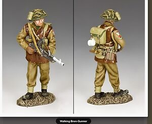 Bb005 Bataille Des Ardennes Ww2 British Walking Bren Gunner Bbb05-afficher Le Titre D'origine Pour Aider à DigéRer Les Aliments Gras