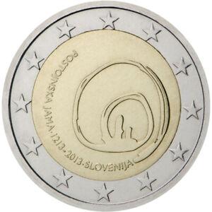2 Euro Commémorative de Slovénie 2013 Belle Épreuve (BE) - Grotte de Postojna