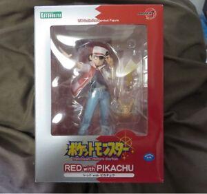 Pokemon Red with Pikachu 1/8 PVC ARTFX J Figure Kotobukiya Japanese