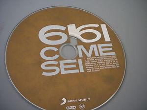 Gigi D'alessio  - 6 Come Sei - Cd senza custodia originale