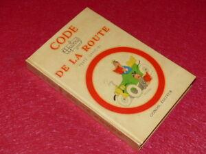 ALBERT DUBOUT Illustrations en couleurs / CODE DE LA ROUTE Complet 1956 Gonon