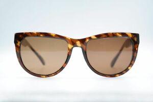 Vintage-terri-brogan-8685-10-Braun-Oval-Sunglasses-Glasses-NOS
