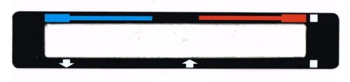 Ford Escort Mk1 1100 Dash Heater Slide decal 1300 1600