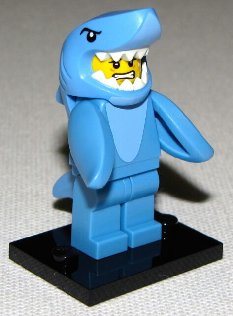 Shark Suit Guy Series 15 Collectible Minifigure LEGO 71011 Mini Figure