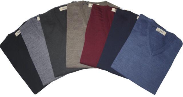 MEN/'S SWEATER wool merino turtleneck 46 48 50 52 54 56 58 60 black ITALIE