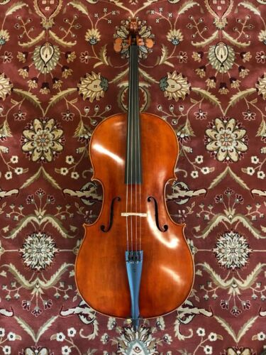 1//8-4//4 D Z Strad Cello Model 150 w// case /& bow