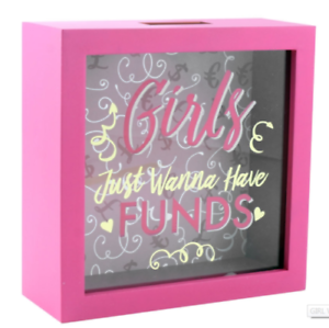 girls just wanna have funds coin box