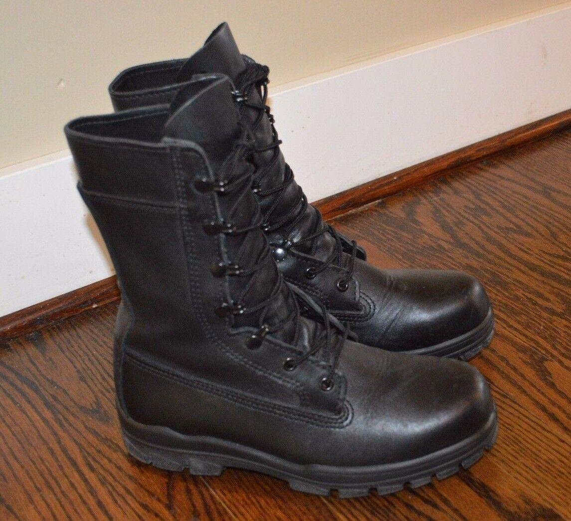 Bates Military Steel Toe Boots 9 Inch 1621A DuraShocks Vibram Soles (6.5 Wide)