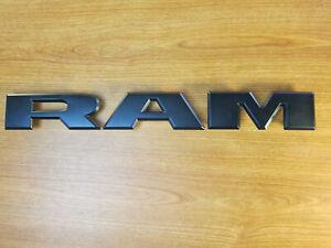 dodge ram emblem grill Details zu Dodge Ram Logo Grill Emblem mattschwarz Motorgrill Schriftzug  Schrift Mopar