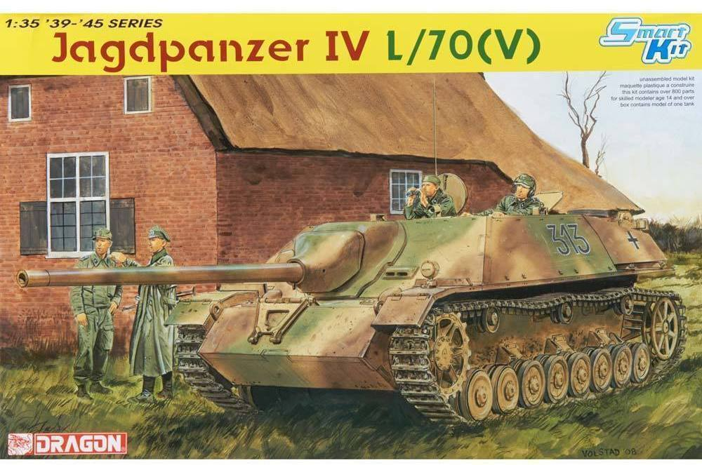 Dragon 6397 1 35 German Jagdpanzer IV L 70(V) - Smart Kit