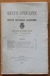 1918-Revue-Africaine-Societe-Historique-Algerienne-N-294