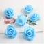 100 X Mini Artificial Rose Flower Heads Foam Wedding Party Decor Wholesale 3cm