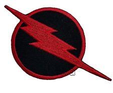 El Flash Rayo Logotipo Bordado Parches termoadhesivos apliques DC Comics #27