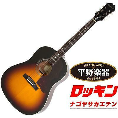 Guitars & Basses Epiphone Masterbilt Aj-45me Vintage Sunburst Rare Beutiful Japan Ems F/s* Good For Antipyretic And Throat Soother