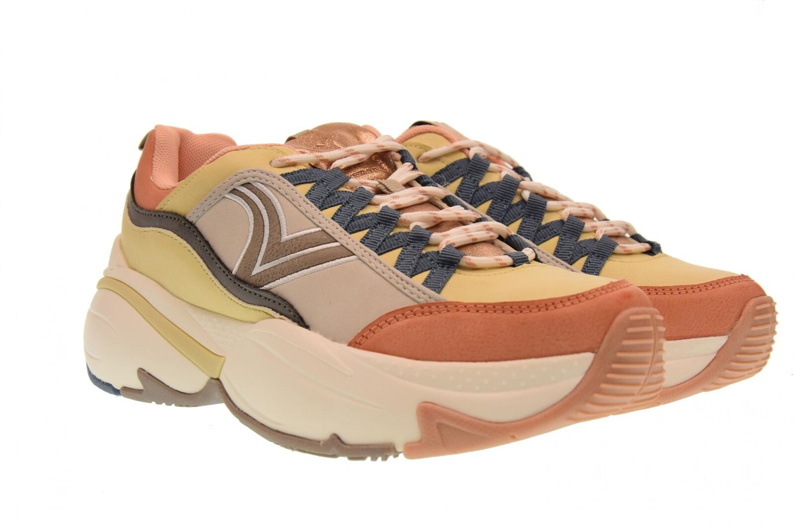 Victoria A18u shoes woman low sneakers 147103 NUDE