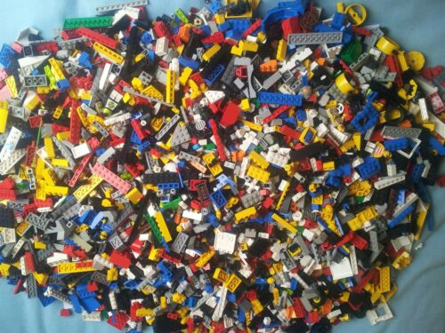 Genuine Lego Bundle 1kg-1000g Mixed Bricks Parts Pieces Starter Set Bulk JobLot