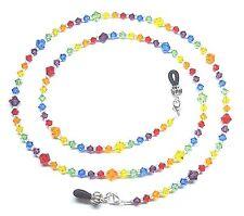 Austrian Crystal Rainbow Eyeglass Chain Holder