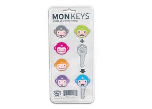 Monkeys-Key-Caps-fun-key-covers-Freaky-Unlock-your-Inner-Chimp-Monkey