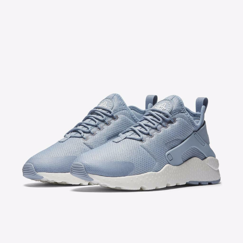 Womens Nike air Blue Huarache Run Ultra 819151-402 Blue air Grey Brand New Size 12 29b28f