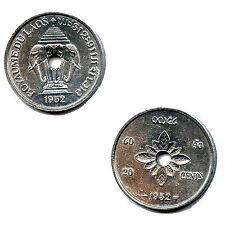 RARE 20 CENTIMES LAOS 1952 COLONIES FRANCE SPL
