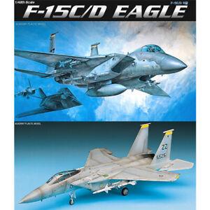 Academy-1-48-F-15C-D-EAGLE-12257-Aircraft-Plastic-Model-Kit