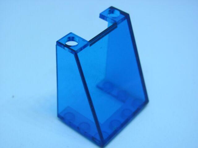LEGO 3 x Cockpit transparent dunkelblau Trans-Dark Blue Windscreen 6x4x1 6152