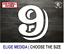 Numero-9-NB-Number-Vinilo-Sticker-Vinyl-Decal-Autocollant-Adesivi-Dorsal